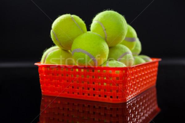 Fluorescente giallo tennis rosso Foto d'archivio © wavebreak_media