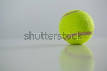 Close up of fluorescent tennis ball Stock photo © wavebreak_media