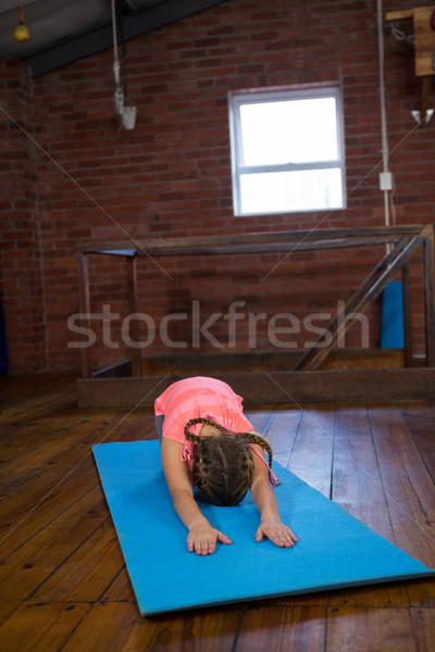 Yoga fitness estudio nina Foto stock © wavebreak_media