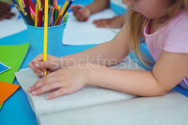 Mutlu çocuklar sanat el sanatları birlikte Stok fotoğraf © wavebreak_media