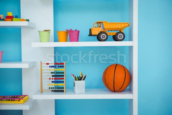 Close up of some shelves Stock photo © wavebreak_media