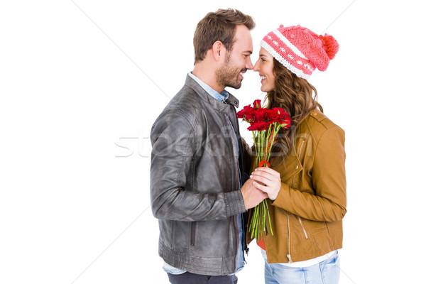 Feliz blanco amor Foto stock © wavebreak_media