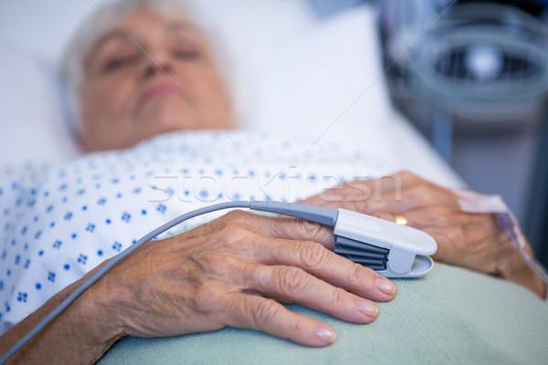指 クリップ 手 モニター パルス 病院 ストックフォト © wavebreak_media