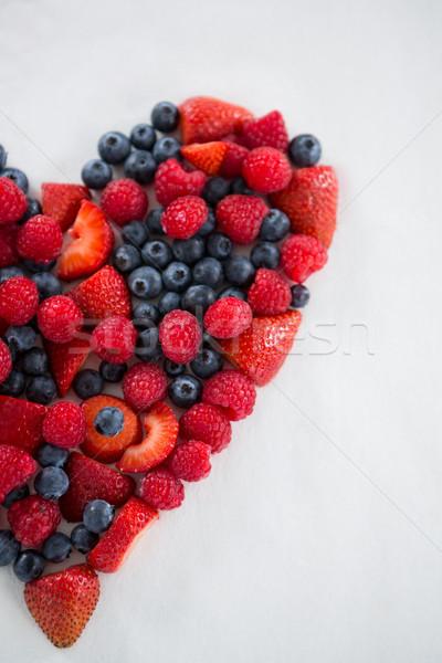 различный плодов формы сердца любви фрукты Сток-фото © wavebreak_media