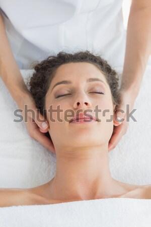 美人 リラックス 泡風呂 スパ 女性 セクシー ストックフォト © wavebreak_media