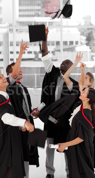 Group of people celebrating their Graduation Stock photo © wavebreak_media