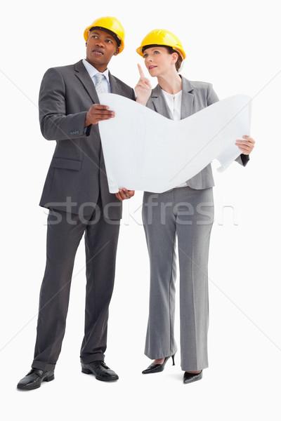 два бумаги Сток-фото © wavebreak_media