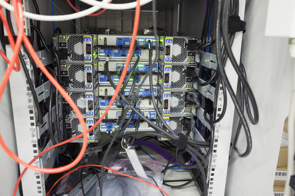 интерьер сервер центр обработки данных безопасности сеть программное Сток-фото © wavebreak_media