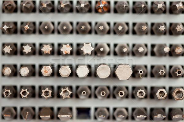 Diverso trapano costruzione strumento Foto d'archivio © wavebreak_media