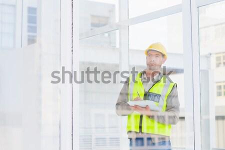 Klienta stałego domu szczęśliwy Zdjęcia stock © wavebreak_media