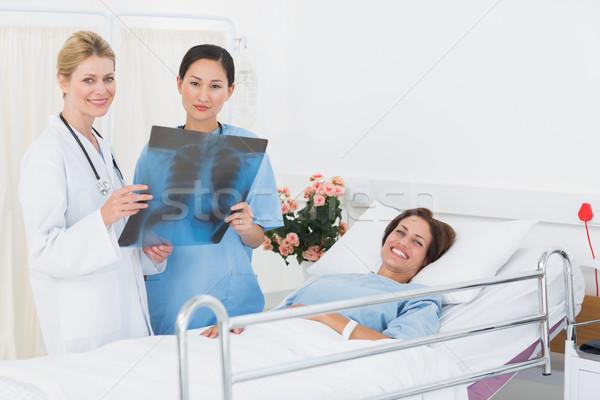 Stock foto: Ärzte · xray · Patienten · Krankenhaus · Arzt