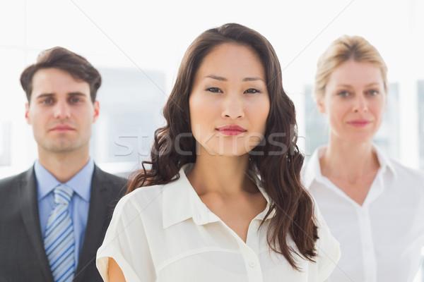 Ernstig zakenvrouw team kantoor business vrouwelijke Stockfoto © wavebreak_media