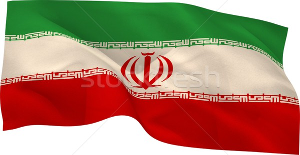 Digitally generated iran national flag Stock photo © wavebreak_media