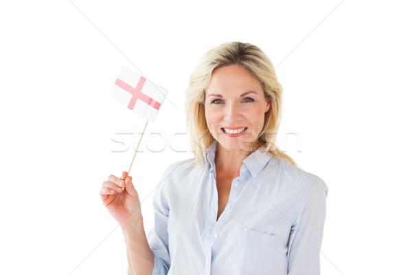 Sorridente mulher loira branco mulher Foto stock © wavebreak_media