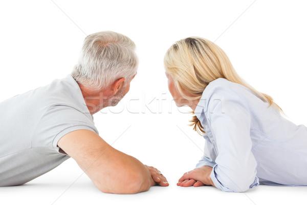 Gelukkig paar naar witte vrouw vrouwelijke Stockfoto © wavebreak_media