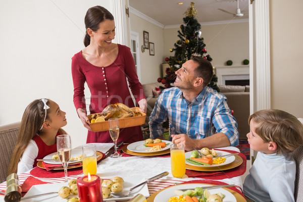 счастливым женщину Турция семьи дома Сток-фото © wavebreak_media