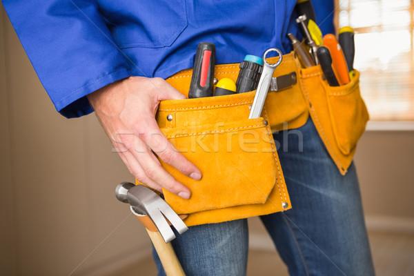 Handwerker Tool Gürtel Haus Stock foto © wavebreak_media