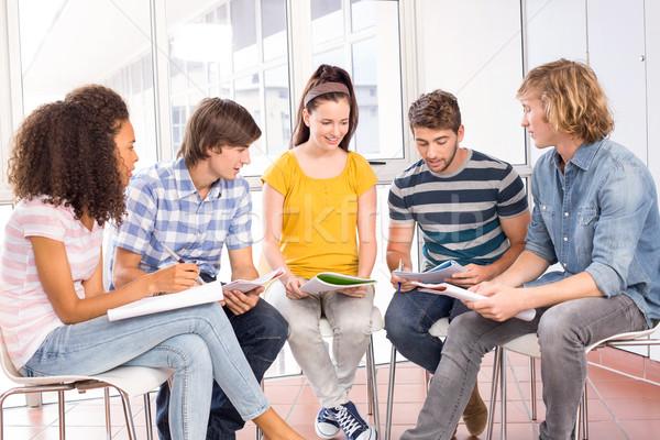 College students doing homework Stock photo © wavebreak_media
