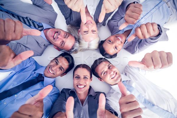 Gens d'affaires blanche femme mains Photo stock © wavebreak_media