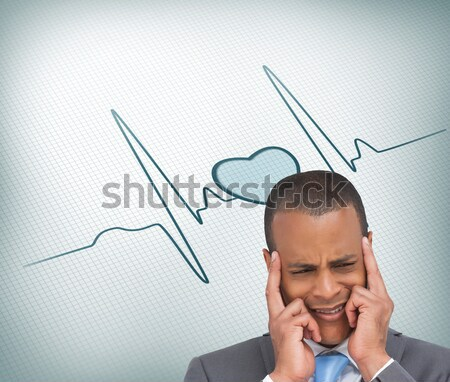 Relaxed businessman extended on a chair Stock photo © wavebreak_media