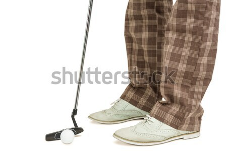 Close up view of businessman shoes Stock photo © wavebreak_media