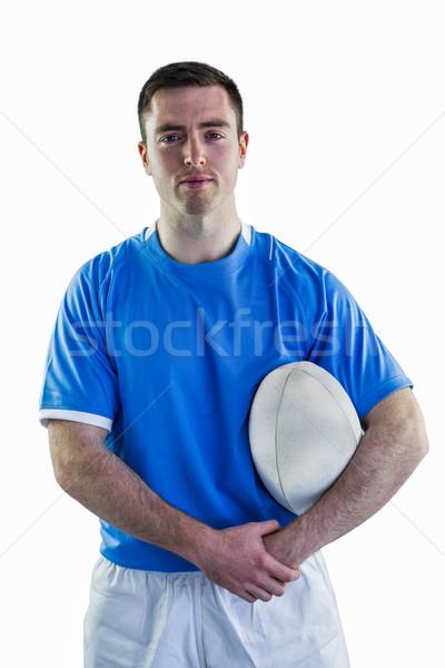 Rugby giocatore ritratto sorridere Foto d'archivio © wavebreak_media