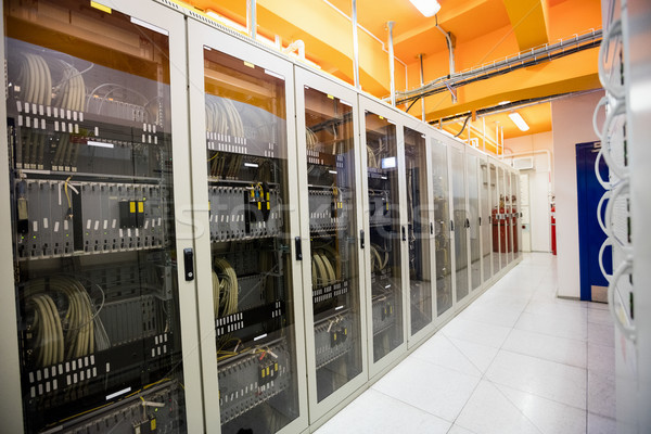 Entrada servidores servidor quarto tecnologia Foto stock © wavebreak_media