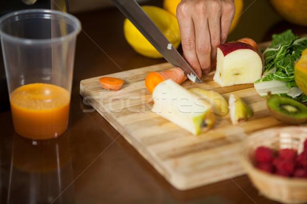 Pessoal cenoura contrariar saúde mercearia Foto stock © wavebreak_media