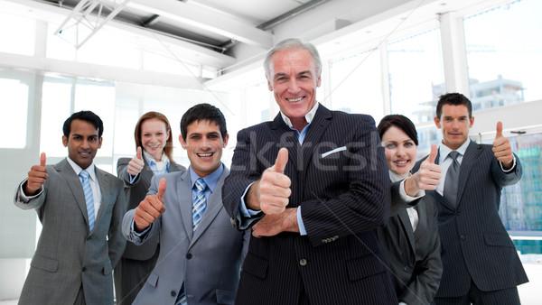 счастливым бизнес-команды служба бизнеса Сток-фото © wavebreak_media