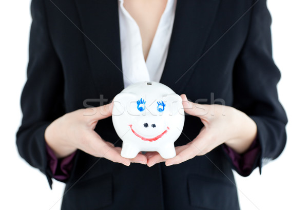 Empresária branco mulher Foto stock © wavebreak_media