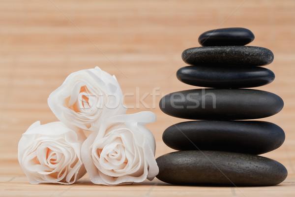 Rosas preto bambu Foto stock © wavebreak_media