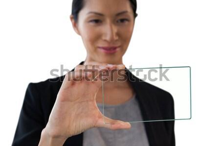 Jungen Geschäftsfrau Handschellen weiß Hand sexy Stock foto © wavebreak_media