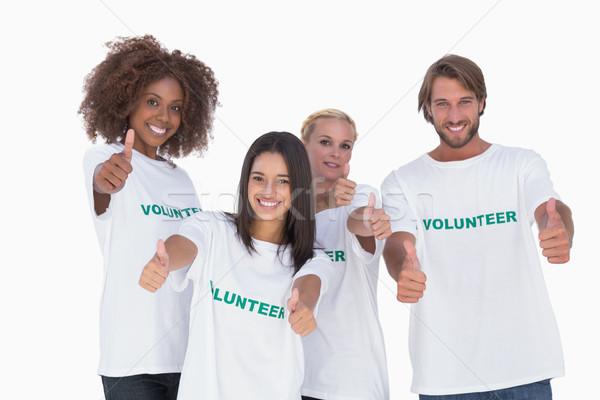 幸せ グループ ボランティア 白 チーム ストックフォト © wavebreak_media