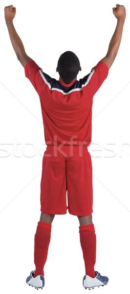 Czerwony biały piłka nożna narzędzi Zdjęcia stock © wavebreak_media