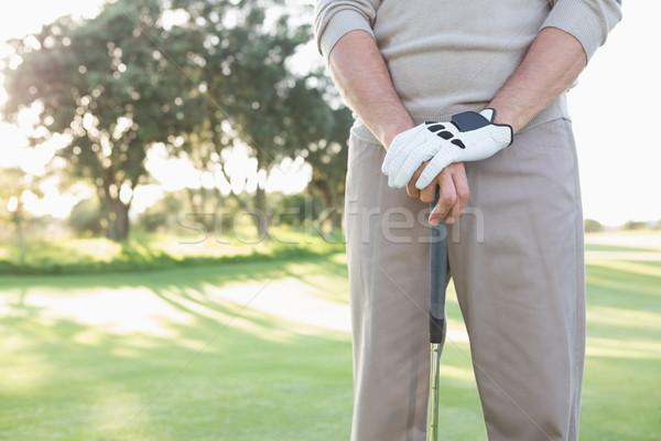 гольфист Постоянный клуба гольф Сток-фото © wavebreak_media