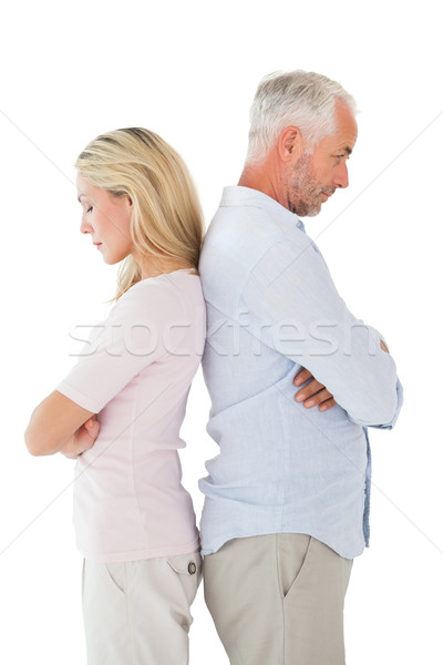 Unhappy couple not speaking to each other Stock photo © wavebreak_media