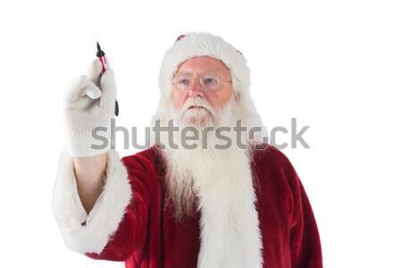 Iets veer papier witte man Stockfoto © wavebreak_media