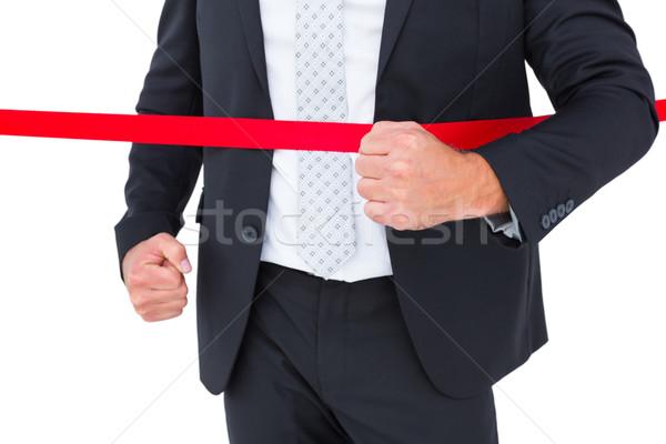 ビジネスマン 白 男 企業 レース ストックフォト © wavebreak_media
