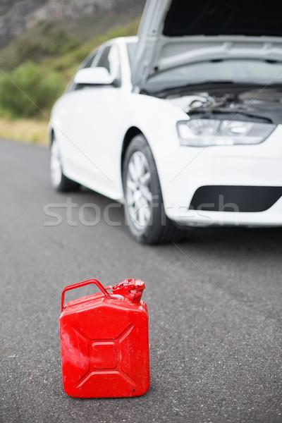 A petrolcan next to car after a breakdown  Stock photo © wavebreak_media