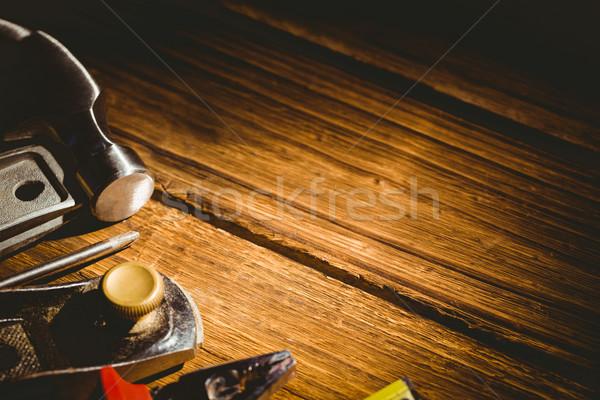 инструменты из таблице выстрел студию Сток-фото © wavebreak_media