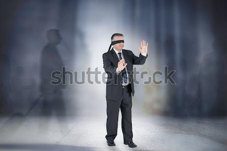изображение бизнесмен готовый гонка Сток-фото © wavebreak_media