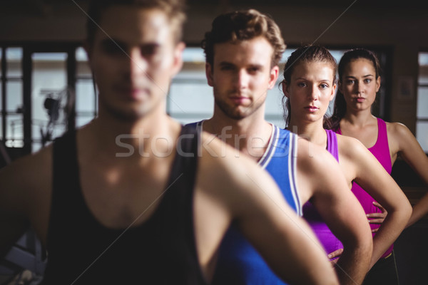 Dopasować ludzi ręce biodra siłowni kobieta Zdjęcia stock © wavebreak_media