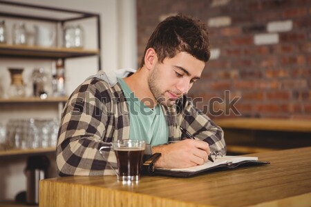 Exhausted woman having a beer Stock photo © wavebreak_media