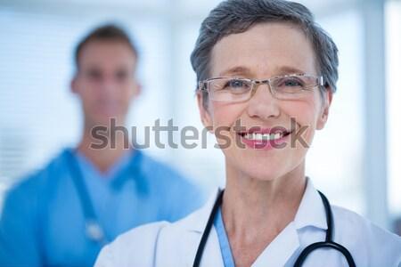 Portrait of female doctor smiling in ward Stock photo © wavebreak_media