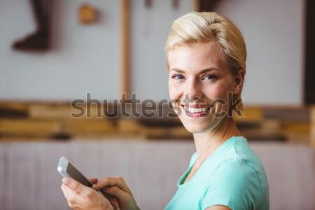 Kadın hemşire dijital tablet koridor hastane Stok fotoğraf © wavebreak_media