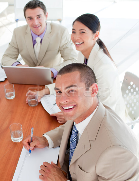 Confident business people in a meeting  Stock photo © wavebreak_media
