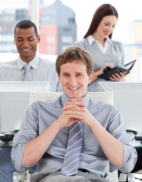 презентация бизнес-команды работу служба женщину клавиатура Сток-фото © wavebreak_media