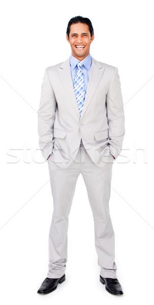 Etnische zakenman handen achtergrond werknemer succes Stockfoto © wavebreak_media