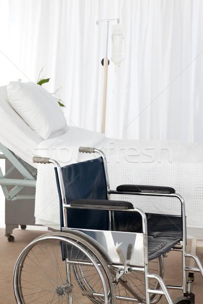 A wheelchair in a room Stock photo © wavebreak_media