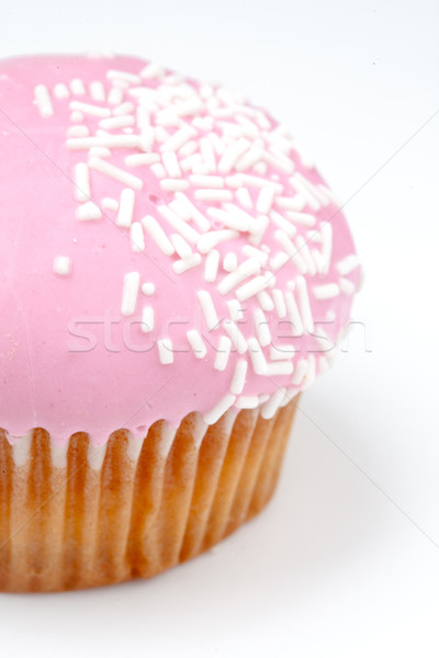 Extreme close up of muffin with icing sugar against a background Stock photo © wavebreak_media